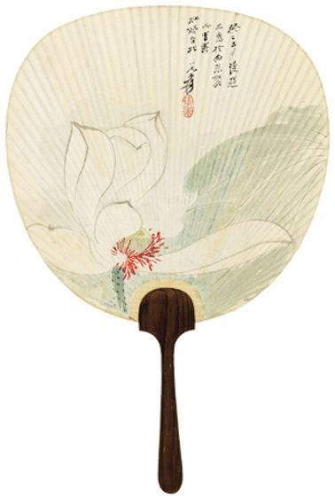 张大千 白荷 成交价:RMB 1610000