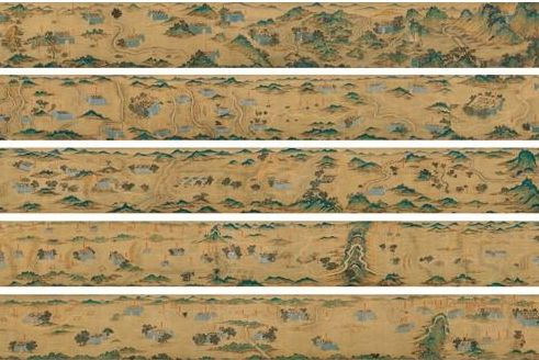 500年前《蒙古山水地图》估价8千万