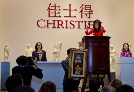 佳士得上海在去年9月举行拍卖