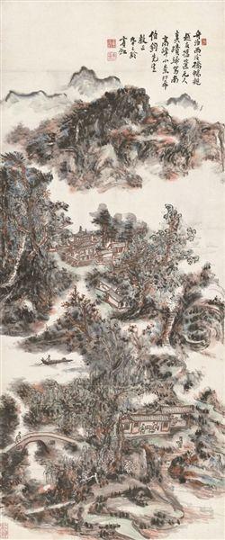 黄宾虹《南高峰小景》6267.5万元成交