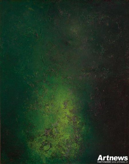 谢景兰《影夏》1958年 油彩 画布 91x71.5cm 预估价:HK$1,500,000 - HK$2,000,000(未包含买方佣金)