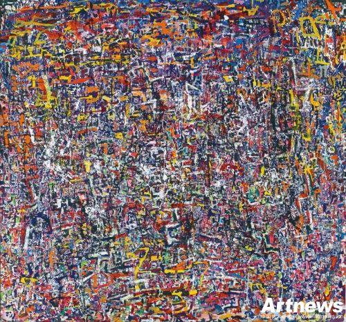 陈荫罢《抽象》油彩 画布134 x 143.5cm 预估价:HK$700,000 –HK$950,000(未包含买方佣金)
