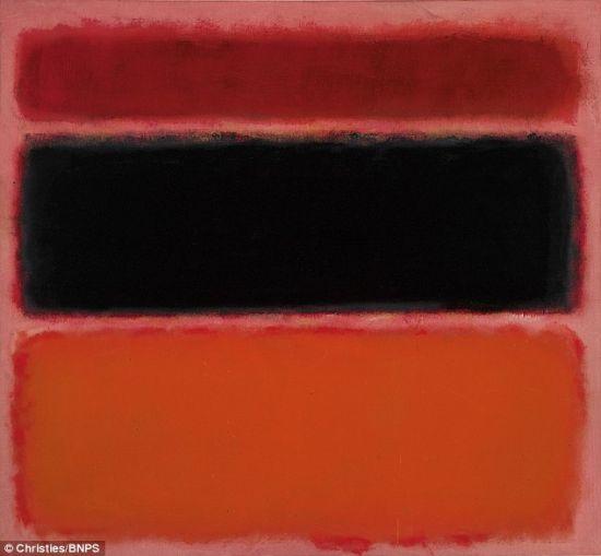 抽象表现主义绘画作品 能看懂多少 价值多少