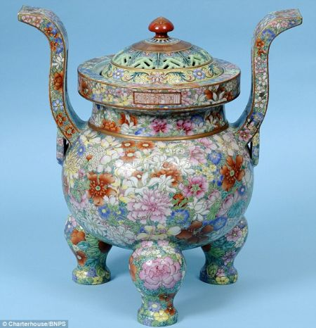 清乾隆年製瓷器