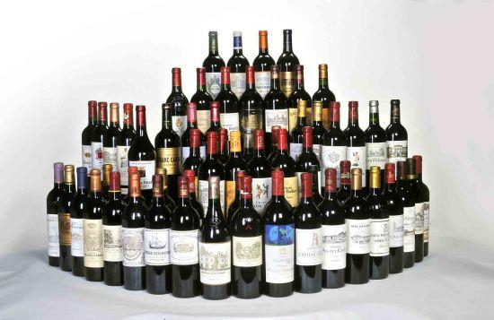 波尔多1855年列级酒庄大全套2008年份
