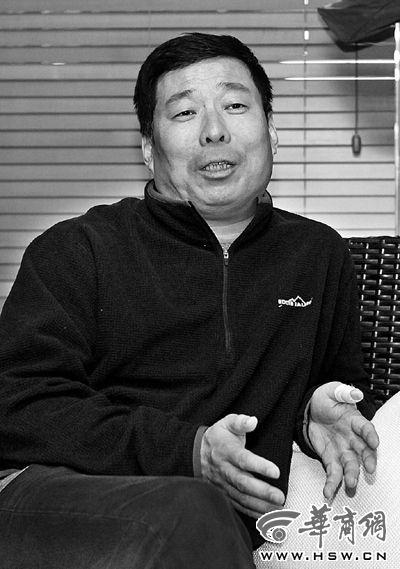西安美术馆馆长杨超 本报记者 黄利健 摄