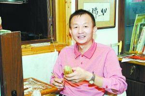 杨传烈:田黄石雕刻贵在创新