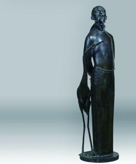 古代爱情人物雕塑