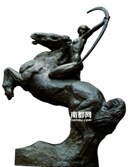雕塑家唐大禧作品