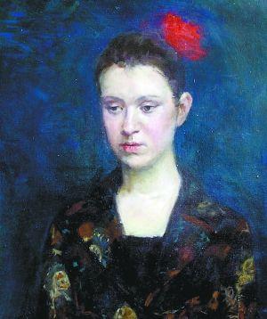 《女青年》 60cm×50cm 油画 2007年