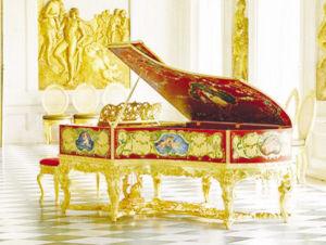 """史上最昂貴的鋼琴""""路易十五"""""""