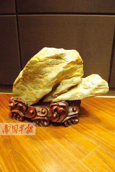 """灵壁石""""神龟""""。"""