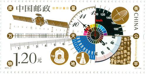 《世界計量日》紀念郵票