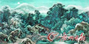 钟莲生《汉宫秋月》釉上彩瓷板在中国嘉德春拍上成交价12420000元。