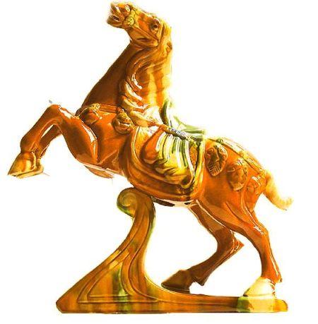 陶泥动物图片马