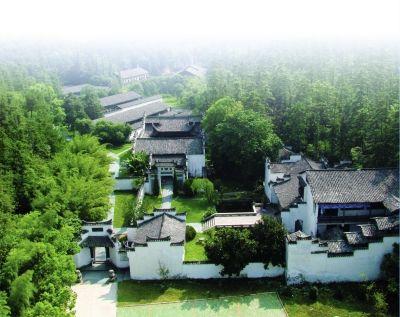 古窑博览区鸟瞰图