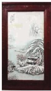 ■ 袁世文《瑞雪兆豐年》