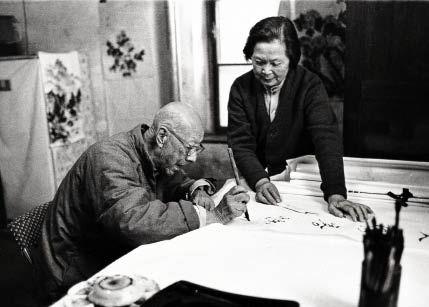 写字、作画是张伯驹夫妇日常生活中不可缺少的事。