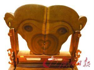 """惟妙惟肖的""""灵猴""""。"""