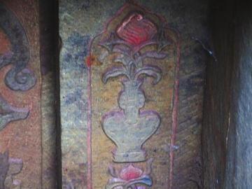 古墓內壁石刻。