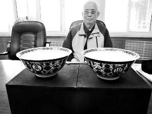 一對命運多舛的乾隆瓷碗