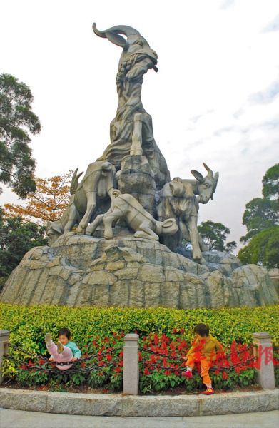 逸闻:广州五羊雕像的发起人