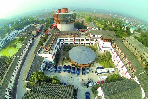 它是重庆火锅博物馆,号称全世界最大火锅