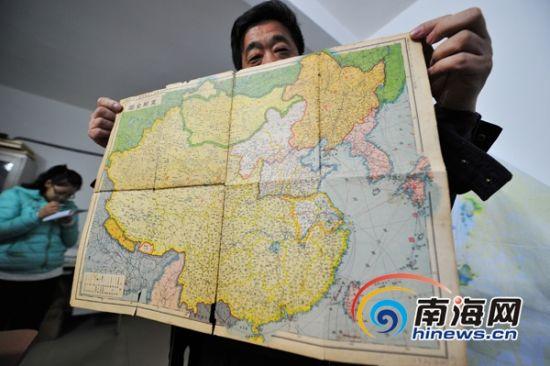 中国分裂后地图
