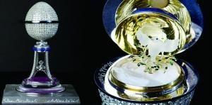 英国打造蛋形珠宝镶千颗钻石:值500万英镑