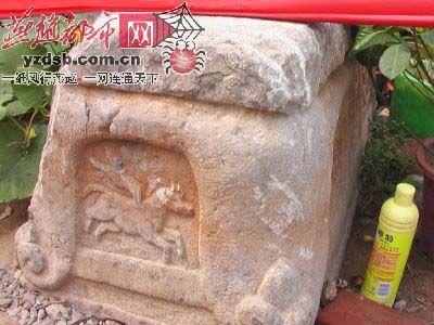 旃檀寺內精美石刻(圖片來源:燕趙都市報攝影:祁胜勇)