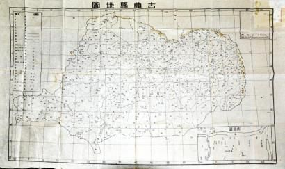 古蔺县手绘图