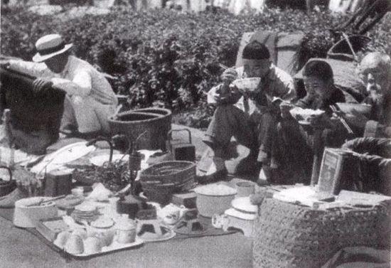 1949年前,苏州的旧货摊