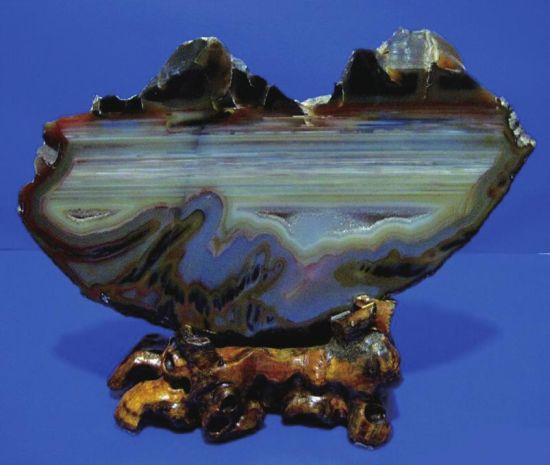 收藏奇石天然為上品