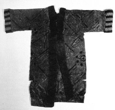 馬山一號墓出土的衣