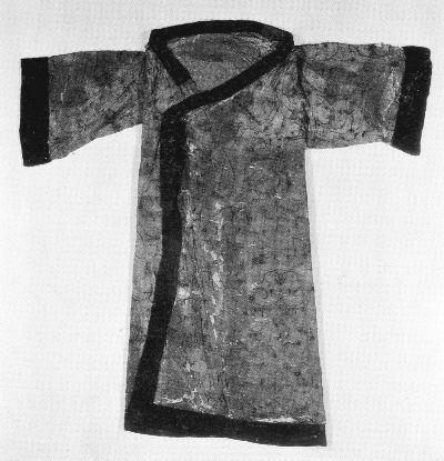 馬山一號墓N10絹綿袍