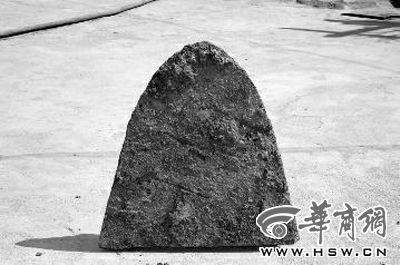 李老漢挖出的鏵華商報記者陳永輝攝