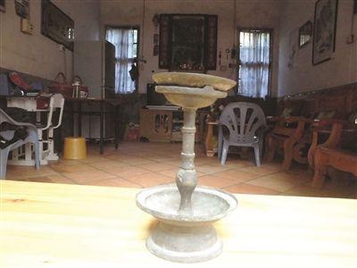 清末民初銅製油燈
