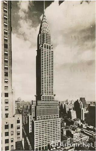 1930年,克莱斯勒大厦