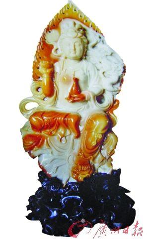 台山玉觀音雕像