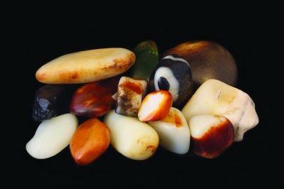 玉痴老怪珍藏的一批极品新疆和田籽玉。