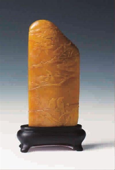 珍貴田黃石雕