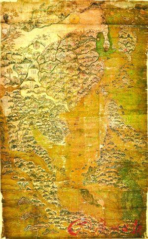 一幅反映明朝中叶福建海上贸易活动的航海图,而非一幅普通的明朝地图