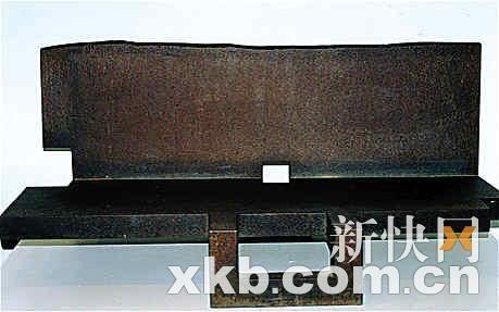 """这块价值700万元的""""铁疙瘩""""被盗贼卖给废品收购商,得手263元。"""