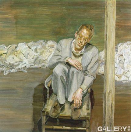 《椅子上的男人》