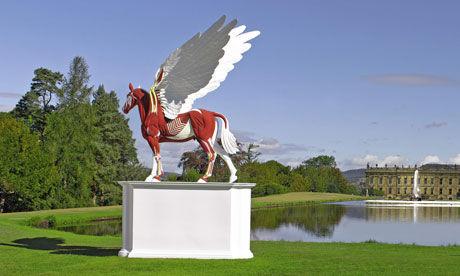 赫斯特的最新雕塑作品