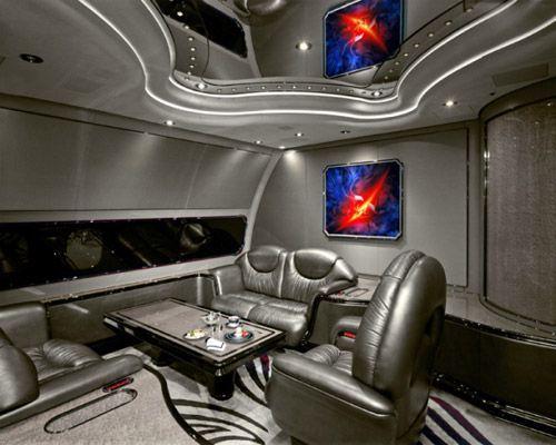 世界最豪华私人飞机内部
