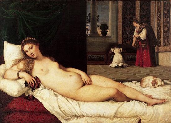 提香的《 The Venus of Urbino》