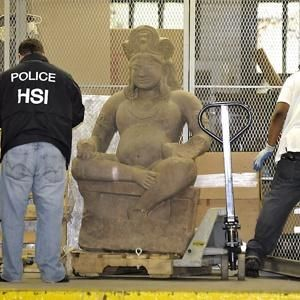 纽约艺术品商藏三千万美元印度赃物。图片来源网络