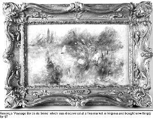 这幅油画是法国印象派画家雷诺阿绘制的
