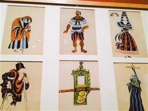毕加索初到伦敦设计戏装